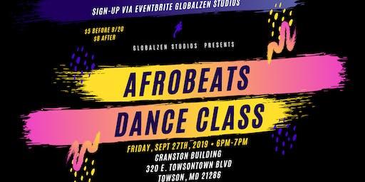 Afrobeats Dance Workshop