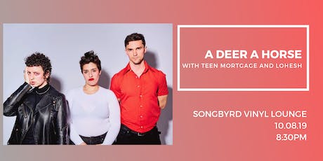 A Deer A Horse at Songbyrd Vinyl  Lounge tickets