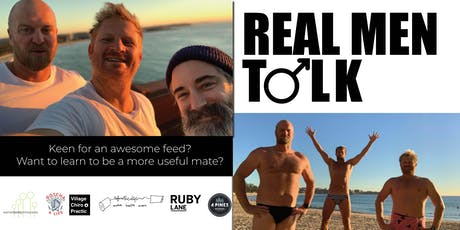 REAL MEN TALK @RUBY LANE MANLY tickets