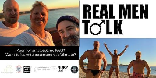 REAL MEN TALK @RUBY LANE MANLY