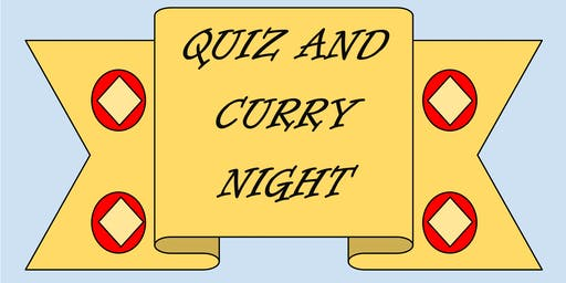 Quiz & Curry Night in Support of the Prison Fellowship