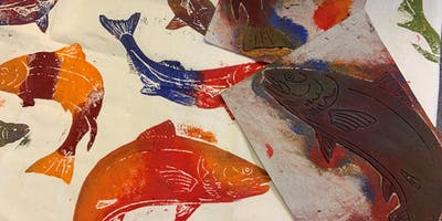 Stamp Fabric Printing