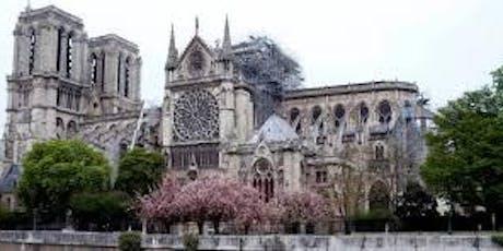 CONFÉRENCE « Notre-Dame : les enjeux de la restauration » billets