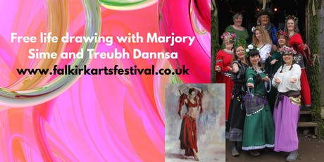 Life Painting Workshop with Marjory Sime and Treubh Dannsa (Morning Session tickets