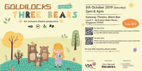 Goldilocks And The Three Bears (2pm show) tickets