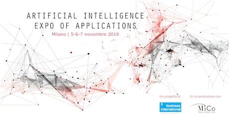 AIXA - Artificial Intelligence Expo of Application biglietti