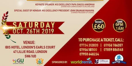 Ghana Union's 40th Anniversary & Awards Evening tickets