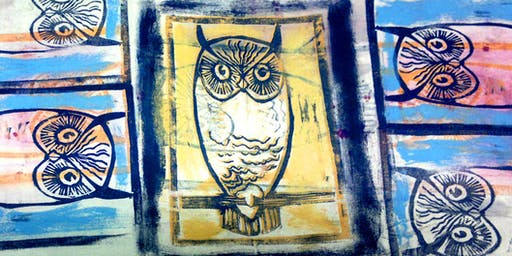 Relief Printing & Monoprint - An Introduction to Printmaking