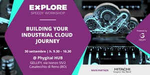 Speedy Workshop - Bulding your industrial cloud journey