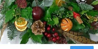 Christmas Wreath Workshop 2019 Loxwood School