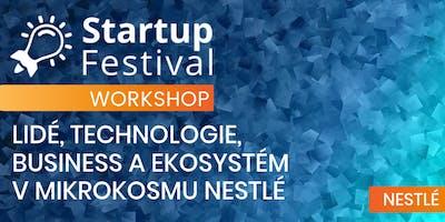 Lidé, technologie, business a ekosystém v mikrokosmu Nestlé