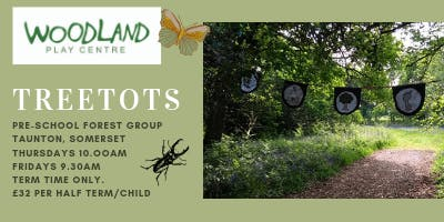 Treetots/Fridays 9.30am - 10.30am (January & February 2020)