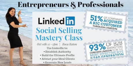 Social Selling Mastery with LinkedIN tickets