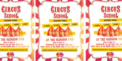 1.00PM - CIRCUS SCHOOL IN THE CIRCUS LAIR AT THE GLENAEON STEINER FAIR