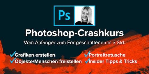 Photoshop-Crashkurs: Vom Anfänger zum Fortgeschrittenen in 3 Std.