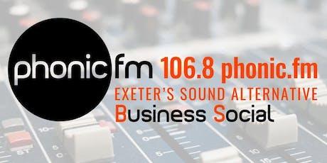 Phonic FM Autumn Business Social tickets