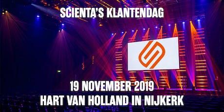 Scienta's Klantendag tickets