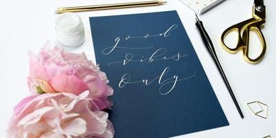 BEGINNERS MODERN CALLIGRAPHY WORKSHOP AT THE TEA SHED