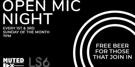 LS6 Open Mic Night tickets