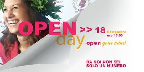 Mediazione Linguistica OpenDay biglietti