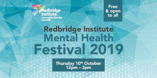 Redbridge Institute Mental Health Festival 2019