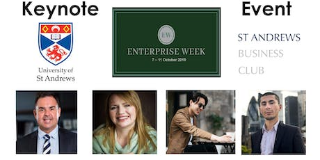 University of St Andrews Enterprise Week 2019 – Keynote Event tickets