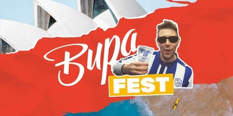 BUPAFEST 1.40 tickets