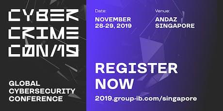 CyberCrimeCon 2019 tickets