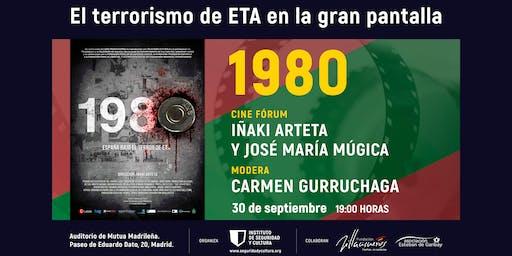 Ciclo de cine  'El terrorismo de ETA en la gran pantalla': '1980'