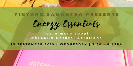 Energy Essentials with YinYangSamantra and Djedi Yogi tickets