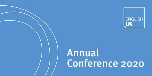 English UK Annual Conference & AGM 2020 - Sponsorship & exhibition