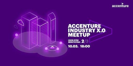 Okos Gyár bemutatása - 2.alkalom - Accenture Industry X.0 Meetup