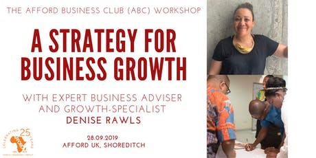 Workshop: A Strategy for Business Growth tickets