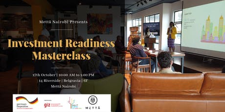 Investment Readiness Masterclass tickets