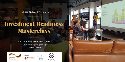 Investment Readiness Masterclass