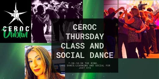 Ceroc Thursday Class and Social Dance The Rink D12