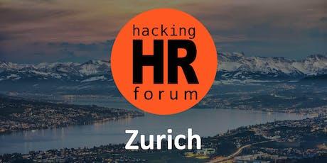 Hacking HR Forum Zurich (Fall 2019) tickets