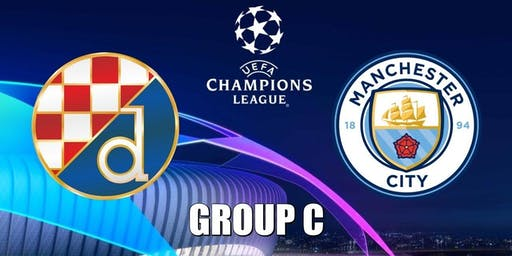 Man City vs GNK Dinamo Zagreb £10 Burger And A Pint Deal