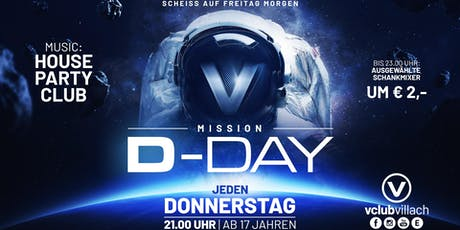 Mission: D-Day mit DJ Indygo Tickets