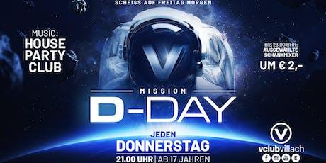 Mission: D-Day mit DJ Indygo Tickets