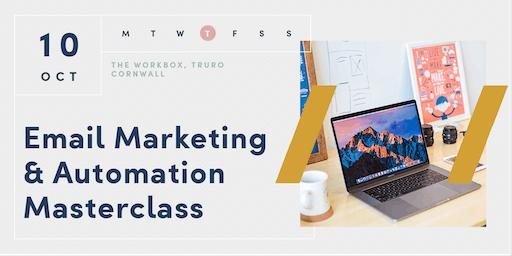 Email Marketing & Automation Masterclass | Truro | Cornwall