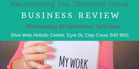 Reconnecting You Therapists Network 20 Nov 2019 tickets