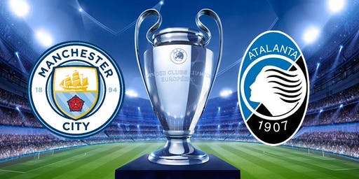 Man City vs Atalanta B.C £10 Burger And A Pint Deal