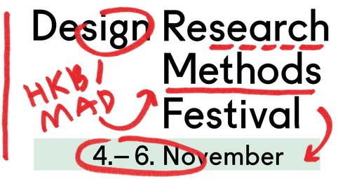 Design Research Methods Festival 2019