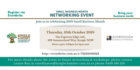 Kyogle Small Business Month Networking Event tickets