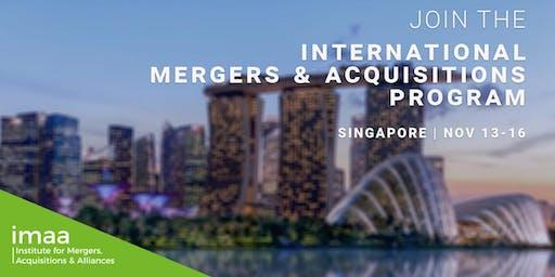 International Mergers & Acquisitions Expert (IM&A) - Certification Program