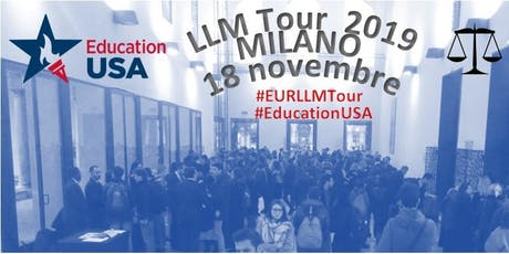 EDUCATIONUSA EUROPEAN LLM TOUR 2019 biglietti