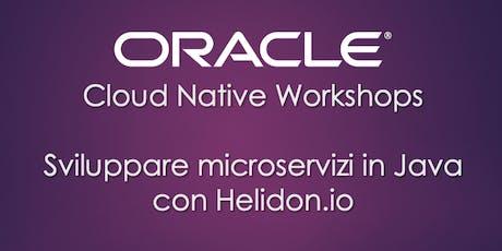 Hands-on: Microservizi in Java con Helidon.io biglietti