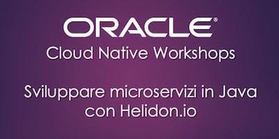 Hands-on: Microservizi in Java con Helidon.io