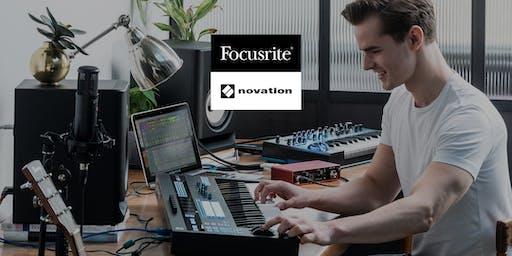 Kreative Musikproduktion im Homestudio